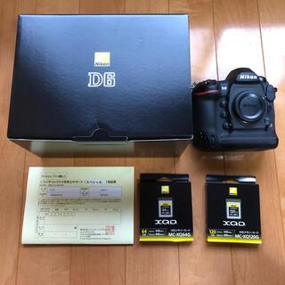 Nikon - 新品同様 Nikon D6 ニコンダイレクト3年保証付き シャッター数93回