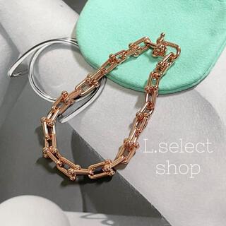296.medium link bracelet【rose】