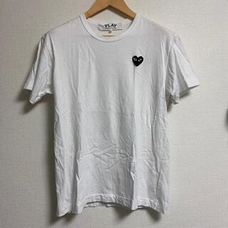 ブラックコムデギャルソン(BLACK COMME des GARCONS)のplay コムデギャルソン ハート tシャツ L(Tシャツ/カットソー(半袖/袖なし))