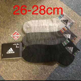 adidas - 新品 未使用 adidas  靴下 アディダス メンズ ソックス 26-28cm