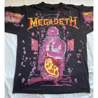 ART VINTAGE - MEGADETH Tシャツ USA製 BROCKUM Vintage 90s