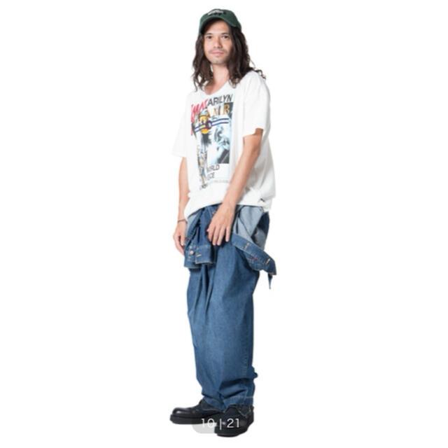 glamb(グラム)のGlamb オールインワン つなぎ デニム メンズのパンツ(サロペット/オーバーオール)の商品写真