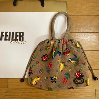 FEILER - FEILER フェイラー 手付き巾着