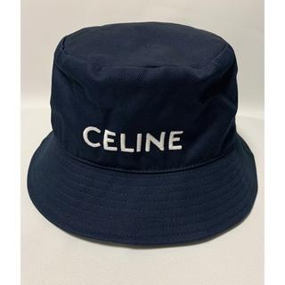 セリーヌ(celine)の新品 【 CELINE セリーヌ 】ロゴ バケット ハット L(ハット)