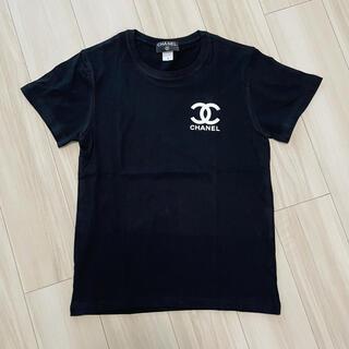 新品CHANELノベルティー Tシャツ ブラック