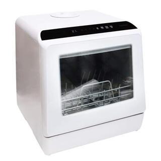 THANKO 食器洗い乾燥機 ラクア ホワイト食洗機 STTDWADW