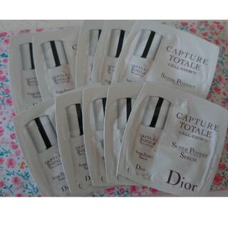 ディオール(Dior)のカプチュールトータルセルエナジースーパーセラム試供品10ml(美容液)