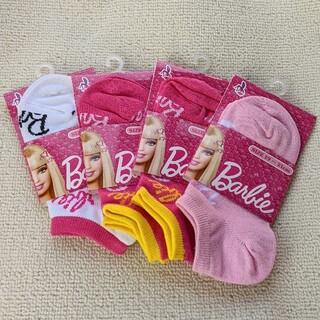 Barbie - 【新品】 Barbie/バービー★スニーカー丈 靴下 4足セット 19~21cm