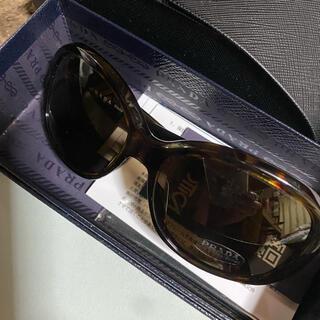 プラダ(PRADA)のPRADA サングラス フレームダークブラウン レンズブラック(サングラス/メガネ)
