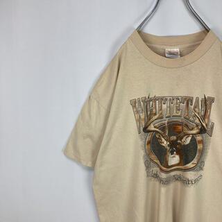 【USA製】古着 アニマル レトロ ビッグサイズ 半袖Tシャツ