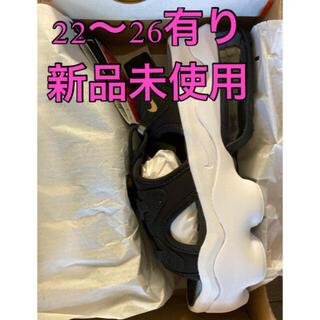 NIKE - NIKE エアマックス ココ サンダル ブラック/ホワイト 22〜25