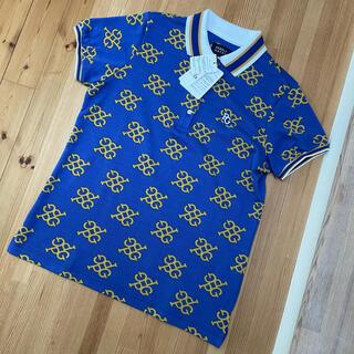 PEARLY GATES - 新品 パーリ ーゲイツ レディース モノグラム ポロシャツ サイズ1