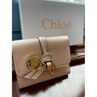 【新品】CHLOE クロエ ALPHABET アルファベット 3つ折り財布