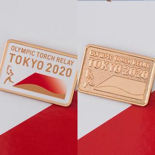 【公式商品】ピンバッジ 東京 2020 オリンピック 聖火リレー  トーチ