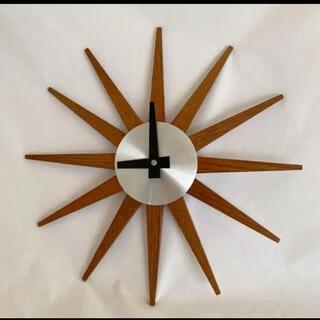 ニトリ(ニトリ)のニトリ 太陽 時計 壁掛け時計 北欧インテリア シンプル オシャレ(掛時計/柱時計)