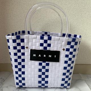 Marni - 【ラスイチ】 MARNI マルニ カフェ ピクニック バッグ レディース 白
