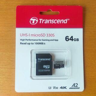 トランセンド(Transcend)のmicroSDカード 64GB UHS-I U3 Class10 V30 A2 (その他)