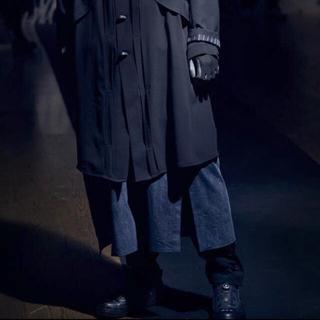 Yohji Yamamoto - 【試着のみ】21-22ss ヨウジオム ラップドレス yohji Y-3
