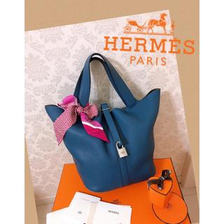 Hermes - 正規品★入手困難‼️超美品 エルメス ピコタンロックGM ブルーアガット