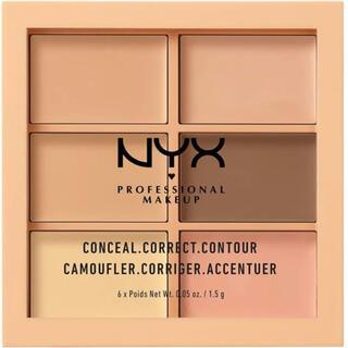 NYX - NYX コンシーラー  / コンシールコレクトコントゥアーパレット