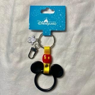 Disney - ❍【新品】香港ディズニー ミッキー キーホルダー ディズニーリゾートライン