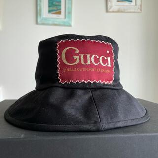 Gucci - 新品【GUCCI 】ラベル付き コットン フェドラハット