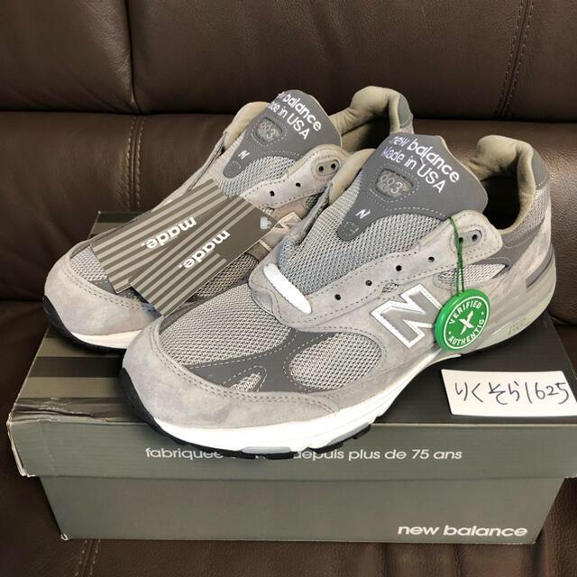 New Balance(ニューバランス)の28cm NEW BALANCE MR993GL メンズの靴/シューズ(スニーカー)の商品写真
