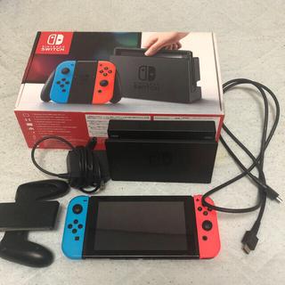 Nintendo Switch - かずき様専用Nintendo Switchネオンブルー/ (R)