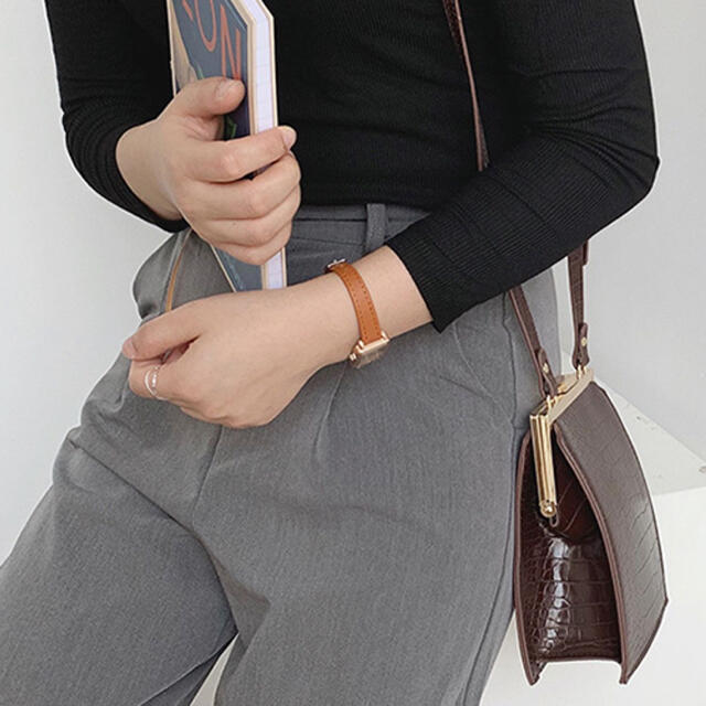 chuclla / クロコ がま口 ショルダーバッグ  レディースのバッグ(ショルダーバッグ)の商品写真