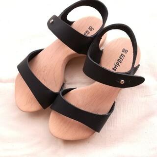 トリッペン(trippen)のトリッペン trippen ウッドソール サンダル 35 木靴 23㎝ 革 皮(サンダル)