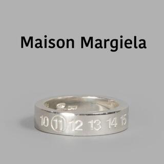 マルタンマルジェラ(Maison Martin Margiela)のmaison margiela マルジェラ ナンバー リング 11 指輪(リング(指輪))