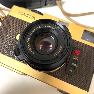 【整備済】MINOLTA CLE GOLD + M-ROKKOR 40mm f2