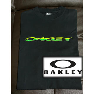 Oakley - 美品 OAKLEY ネオンカラーロゴ Tシャツ logo t shirt