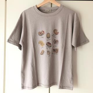 SM2 - ★新品★サマンサモスモス/焼き菓子プリントTシャツ/グレー