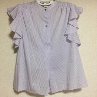 アクアガール(aquagirl)のaquagirl ストライプシャツ(シャツ/ブラウス(半袖/袖なし))