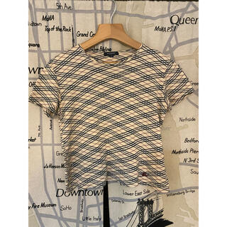 バーバリー(BURBERRY)のバーバリー ノバチェック チェック柄 ヴィンテージ Tシャツ(Tシャツ(半袖/袖なし))