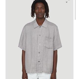 WACKO MARIA - our legacy box sleeve linen shirt 44