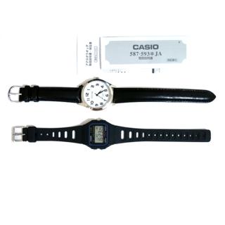 カシオ(CASIO)のデジタル&アナログ2本セット★☆バンド交換済み(腕時計(アナログ))