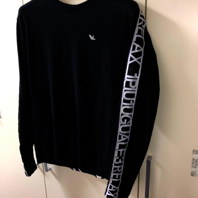 1piu1uguale3(ウノピゥウノウグァーレトレ)の新作 1PIU1UGUALE3 ロゴTシャツ メンズのトップス(Tシャツ/カットソー(七分/長袖))の商品写真