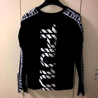 ウノピゥウノウグァーレトレ(1piu1uguale3)の新作 1PIU1UGUALE3 ロゴTシャツ(Tシャツ/カットソー(七分/長袖))