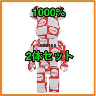 メディコムトイ(MEDICOM TOY)のBE@RBRICK atmos × Coca-Cola 1000% 東京(その他)