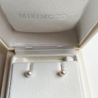 ミキモト(MIKIMOTO)のMIKIMOTO 一粒パールピアス K18YG(ピアス)