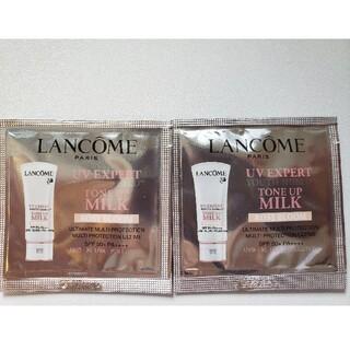 ランコム(LANCOME)のLANCOME  UV エクスペール トーン アップ ローズ 1ml ×2(化粧下地)