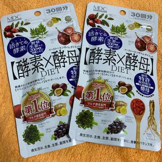 酵素×酵母 2袋× 30回分(ダイエット食品)
