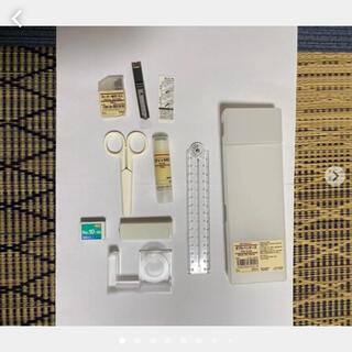 ムジルシリョウヒン(MUJI (無印良品))の無印 ミニお道具箱(はさみ/カッター)