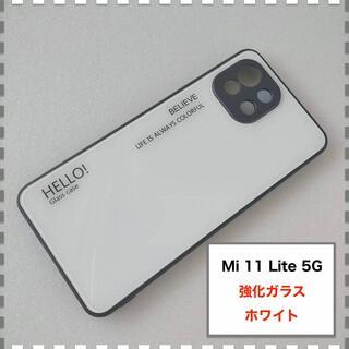 Mi 11 Lite 5G ケース 白 ホワイト かわいい Mi11Lite