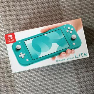 ニンテンドースイッチ(Nintendo Switch)のニンテンドー スイッチライト Switch Lite 本体 ターコイズ(携帯用ゲーム機本体)