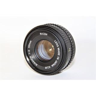リコー(RICOH)のRICOH RIKENON 50mm F2 PENTAX Kマウント(レンズ(単焦点))