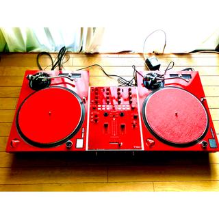 パナソニック(Panasonic)のレッド Technics SL-1200MK5 VESTAXPMC-05PROⅣ(ターンテーブル)