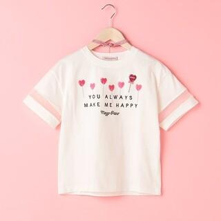 メゾピアノジュニア(mezzo piano junior)のメゾピアノ Tシャツ 160   キャンディー(Tシャツ/カットソー)